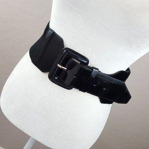 🆕 Steve Madden - Black Stretch Belt